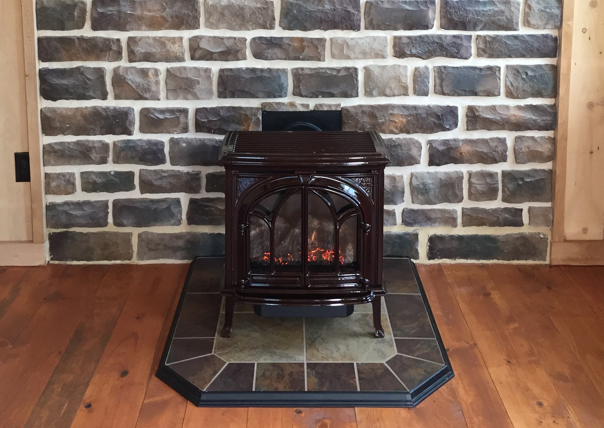 diamond winter the using design stunning great best and surround for faux during long inserts stone room living ideas fireplace installation interior keeps with gas insert warm